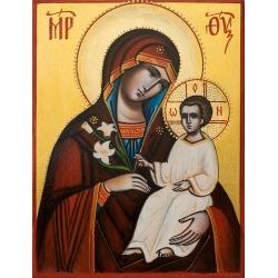 """Св. Богородица """"Благоуханний цвят""""- икона от ИВА"""