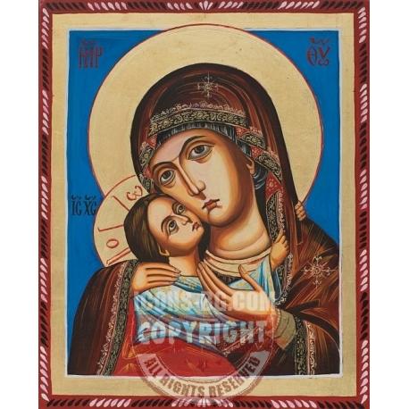 """Св. Богородица """"Рилска"""" - икона от МИРОНОВ"""