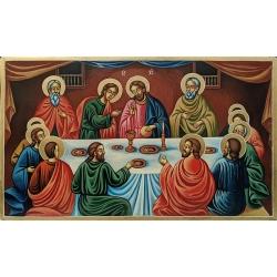 Тайната вечеря - рисувана икона от ТИНКА
