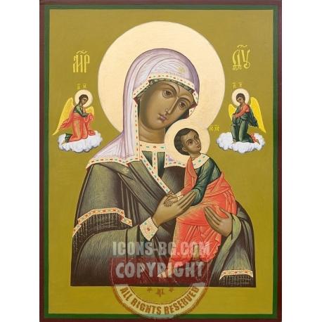 Св. Богородица Одигитрия с Архангели- икона от ДРУЖИНИН