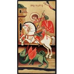 Свети Георги на кон (Несебър) - икона от ТИНКА