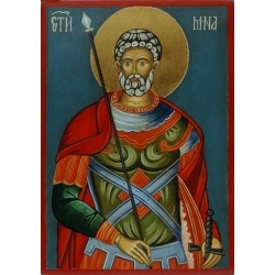 Свети Мина - икона от НЕНЧЕВИ
