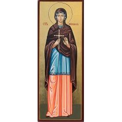 Света Моника - рисувана икона