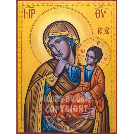 "Света Богородица ""Утешение""- икона от ИВА"