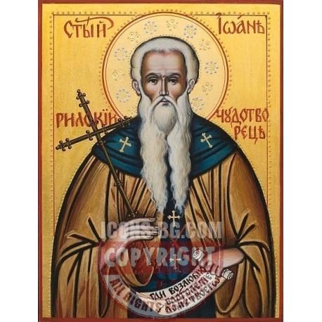 Св.Йоан Рилски - икона от ИВА