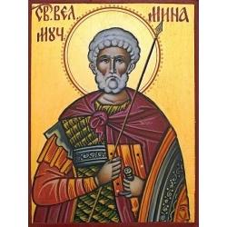 Свети Мина (16x12см.)