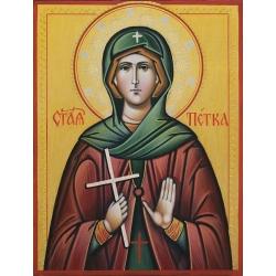 Света Петка - икона