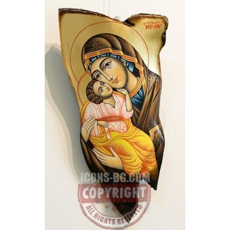 """Пресв.Богородица """"Умиление"""" - картина от Чаушев"""