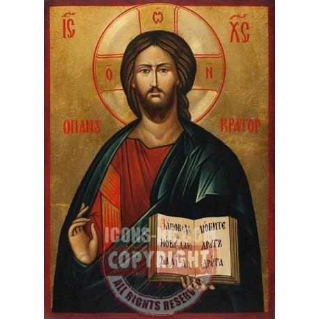 Христос Пантократор, 25x18 - икона от РАЛИЦА