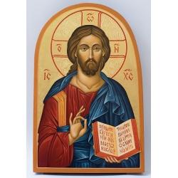 Христос Пантократор - икона от Емилия, 20,5/13,5см.