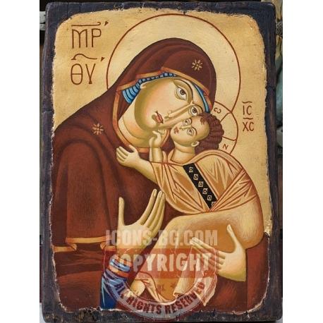 Св. Богородица Умиление - икона от ТИНКА