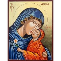 Света Анна с пресв.Богородица - икона от РОСЕН