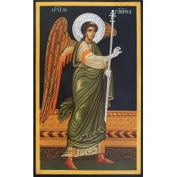 Свети Архангел Гавриил с посребрени орнаменти