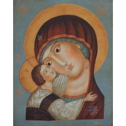 Света Богородица с Младенеца- икона от Юлия СТАНКОВА