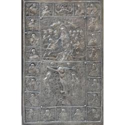 Посребрен евангелски обков (Черепиш) - от МИХАЛЕВ