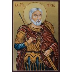 Свети великомъченик Мина - икона от РОСЕН
