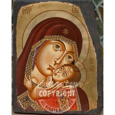 Св. Богородица (Бачковска)- икона от ТИНКА