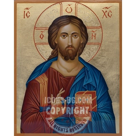 Христос Пантократор - икона от ЕМИЛИЯ