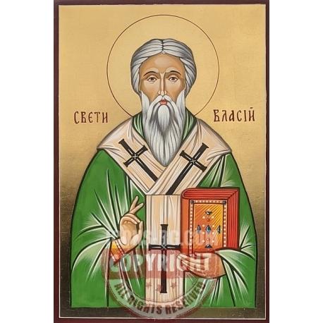 Св. свещеномъченик Власий - икона от РОСЕН