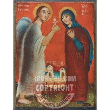 Благовещение, 20x15см - икона от ЮЛИЯ