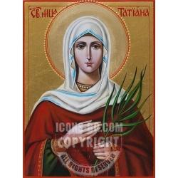 Света Татяна - икона от ИВА